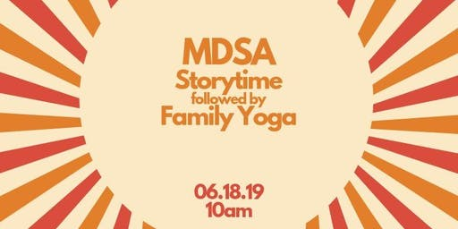 Free Community Storytime followed by a family yoga session