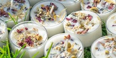 The Art of Candle Making: Flower Infused Candles