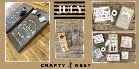 July 17th at The Crafty Nest (Whitinsville) tickets