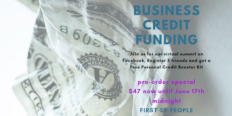 GEMZ SMART $$ BUSINESS CREDIT FUNDING BOOTCAMP-GET FUNDED & GROW  tickets