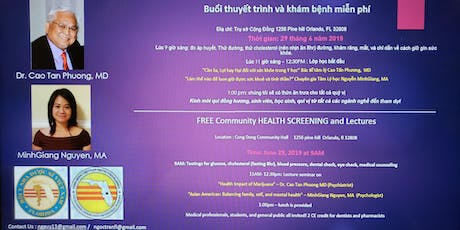 Community Health Fair and Continued Medical Education tickets