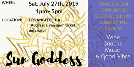 Sun Goddess Oasis tickets