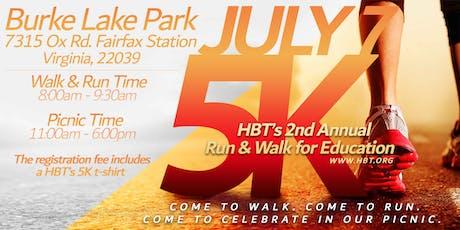 HBT's 2nd Annual 5K Walk/Run tickets