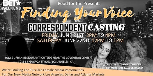 BET Weekend-Finding Your Voice Talent Casting