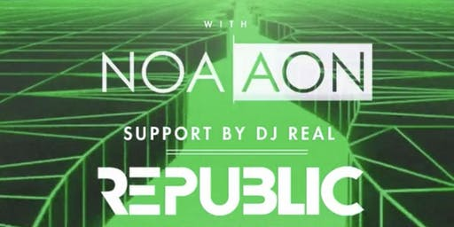 Republic Saturdays | DJ NOA AON | 6.22.19