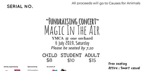 Magic in the Air tickets