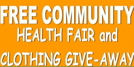 New Image Community Baptist Church Outreach Ministry's Clothing Giveaway & Health Fair tickets