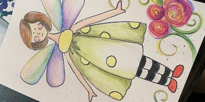 Sassy Fairy Watercolor Pencils with Jodi