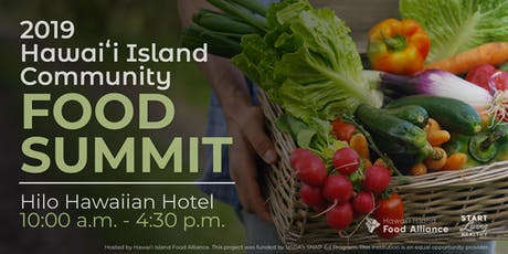 2019 Hawaiʻi Island Community Food Summit tickets