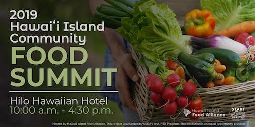 2019 Hawaiʻi Island Community Food Summit