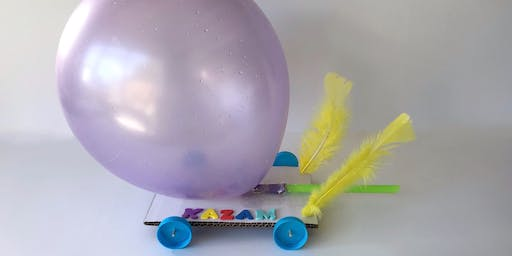 Make a Balloon Powered Car @ Wonthaggi Library