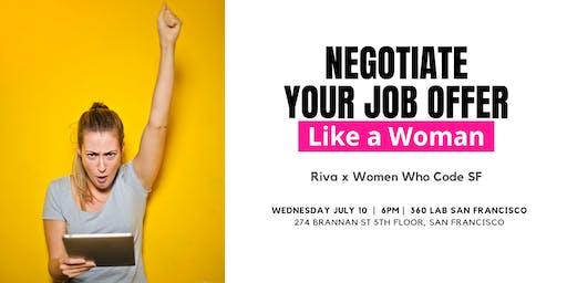 Negotiate Like a Woman