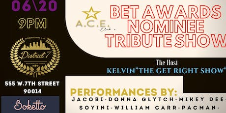 BET AWARDS TRIBUTE SHOW tickets