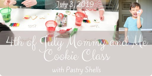 Fourth of July Mommy and Me Cookie Decorating Class