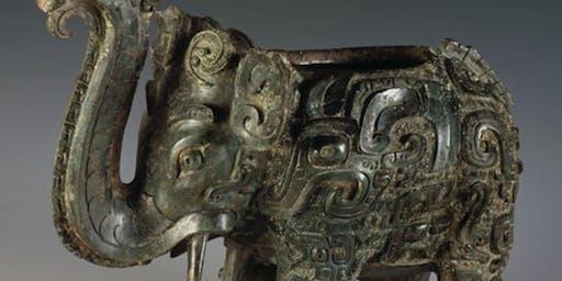 Intermediate Hand-building Chinese Bronze Age Vessel/Sculpture - Carol McGilvery T3