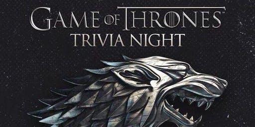 Tremendous Trivia presents GAME OF THRONES Trivia Night at Rusty's KELOWNA!
