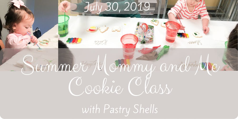 Summer Mommy and Me Cookie Decorating Class
