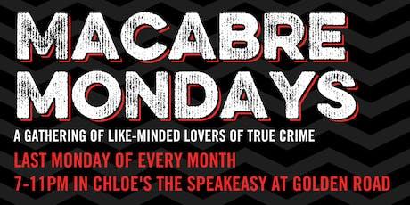 Macabre Monday - Self Defense tickets