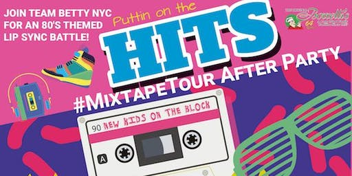 Remember Betty NYC's Puttin' on the Hits #MixTapeTour After Party