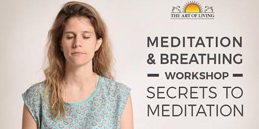 Secrets to Meditation in Atlanta