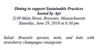 Sustainable Pratices Fundraising Dinner hosted by Apt