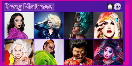 Queerstarter Drag Matinee hosted by Kiko Soirée with West Dakota, Ragamuffin, Lady Quesa'Dilla, Dusty Ray Bottoms, Dr. Wang Newton, Zenobia, & Crimson Kitty tickets