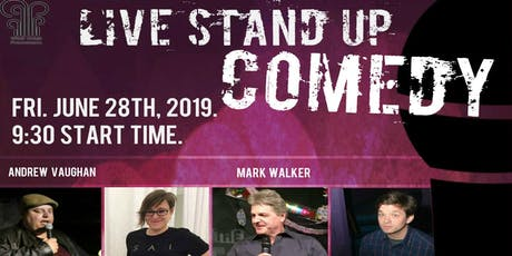 Live Stand Up Comedy at the Grand Banker tickets