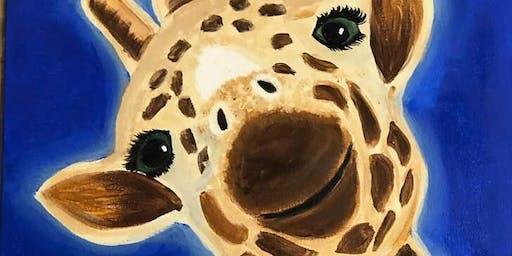 Paint'n Party - JoJo the Giraffe