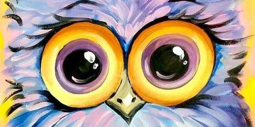 Paint'n Party - Hooty the Owl