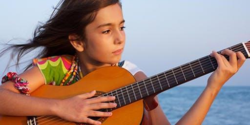 PILSEN: SUMMER Guitar Class for Kids and Parents (Level IV)