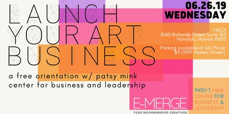 Launch your Art Business tickets