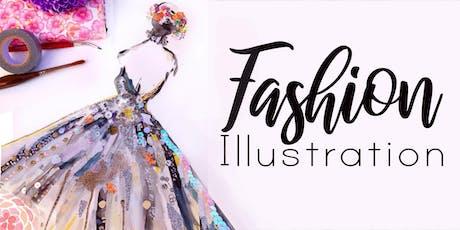 Fashion Illustration Holiday Workshop tickets