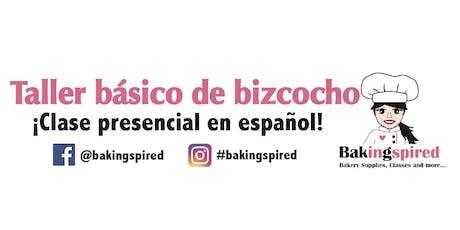Taller Basico de Bizcocho  tickets