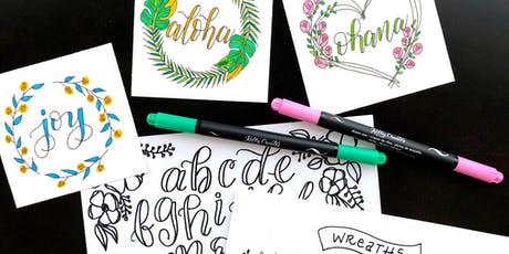 Kelly Creates Faux Calligraphy & Wreaths tickets