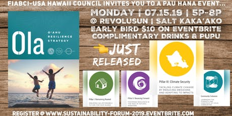 Sustainability Forum: Resilient O'ahu tickets