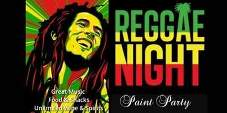 Reggae Sip & Paint tickets