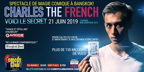 CHARLES THE FRENCH - Magie Comique! tickets