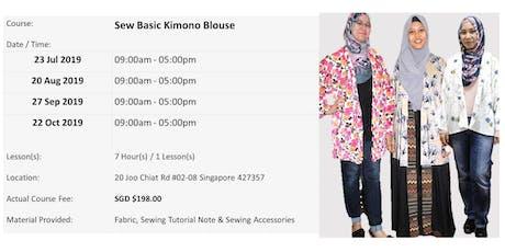 Sew Basic Kimono Blouse Workshop tickets