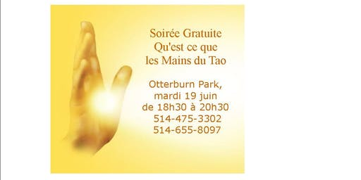 Soirée Gratuite Qu'est ce que les Mains du Tao
