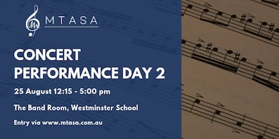 MTASA Concert Performance Day 2, 2019