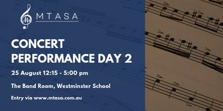MTASA Concert Performance Day 2, 2019 tickets