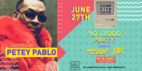 90s/00s Party with PETEY PABLO at Love + Propaganda Thursday (series) tickets