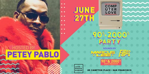 90s/00s Party with PETEY PABLO at Love + Propaganda Thursday (series)