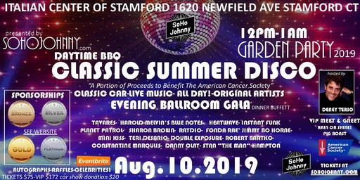 CLASSIC DISCO SUMMER EXTRAVAGANZA FOR A GREAT CAUSE