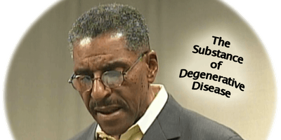 The Substance Degenerative Disease is made of