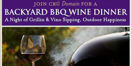 Backyard BBQ Wine Dinner tickets