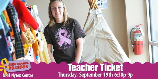 JBF Teacher Presale Ticket | N.Richland Hills