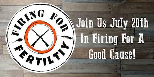 Firing For Fertility trap shoot fundraiser