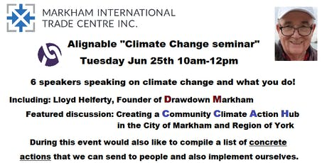 Alignable Climate Change seminar tickets
