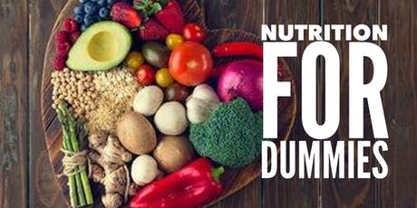 Nutrition for Dummies  tickets